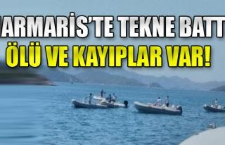 Marmaris'te Tekne Battı: 3 Kayıp Ve Yaralılar Var