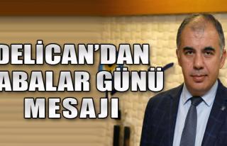 AK Partili Delican'dan Babalar Günü Mesajı