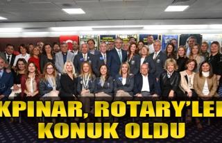 Akpınar, Rotary'lere Konuk Oldu