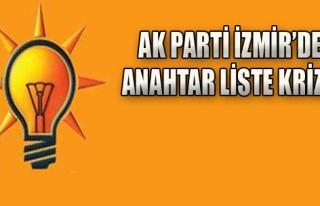 AK Parti İzmir'de Anahtar Liste Krizi