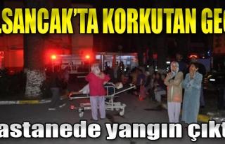 Alsancak'ta Hastane Yangını