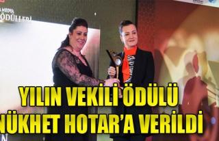 Hotar'a 'Yılın Milletvekili' Ödülü