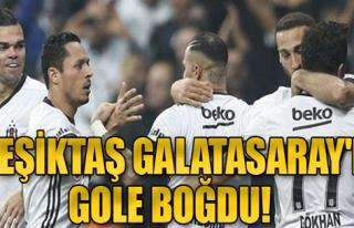 Beşiktaş 3- 0 Galatasaray
