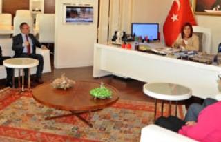 Aydın Barosu'ndan Çerçioğlu'na Ziyaret