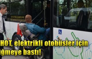 ESHOT, Elektrikli Otobüsler İçin Düğmeye Bastı...