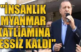 Cumhurbaşkanı Erdoğan Çatalca'da Konuştu
