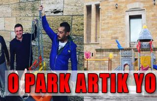 CHP'li Gençler O Parkı Söktü