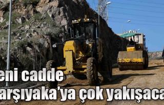 Karşıyaka'ya 7 Metre Genişliğinde Yeni Cadde