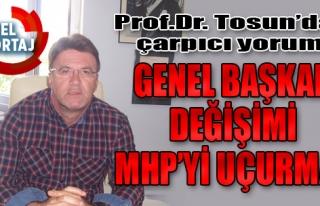 'Genel Başkan Değişimi MHP'yi Uçurmaz'