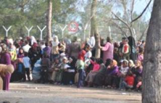 İslahiye Kampı'nda Protesto