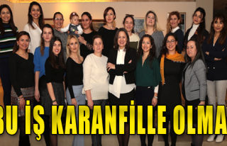 'İzmir Kadınında İrade Var'