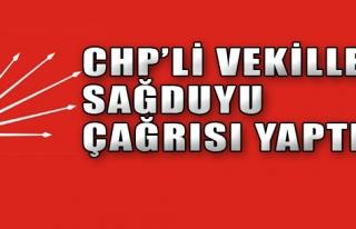 İzmirli Vekiller Sağduyu Çağrısı Yaptı