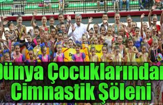 Dünya çocuklarından Cimnastik Şöleni