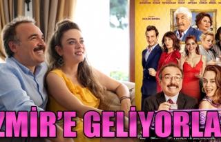 Aile Arasında Filminin Oyuncuları İzmir'e Geliyor