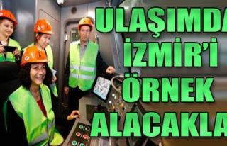 İzmir'in Ulaşım Modellerini İncelediler