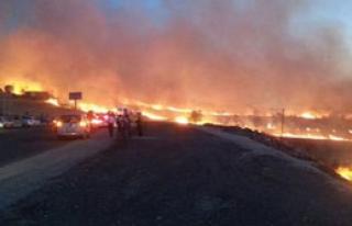 Diyarbakır'da Büyük Yangın