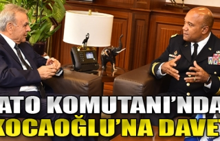 NATO Komutanı'ndan Kocaoğlu'na Davet