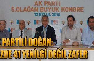 'Davutoğlu Partiyi Zirveye Taşıdı'
