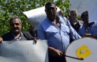 Zonguldak'ta Fındık Protestosu