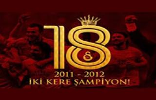 Galatasaray 2 Kere Şampiyon
