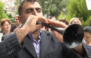 3+3'e Davullu Zurnalı Protesto