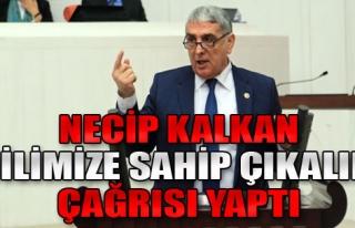 Kalkan'dan Türkçe Vurgusu