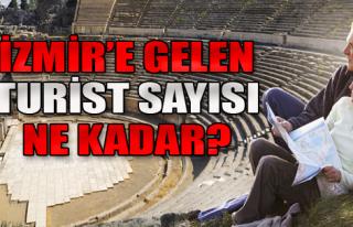 İzmir'e Gelen Turist Sayısı Açıklandı