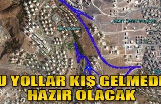 Çiğli'deki Yollar Kış Gelmeden Hazır Olacak