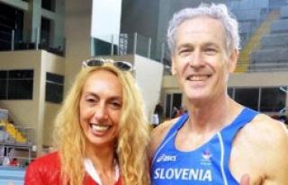 Veteran Sloven Atlet Rekorunu Geliştirdi