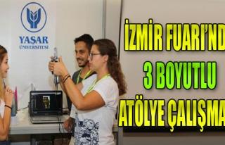 İzmir Fuarı'nda 3 Boyutlu Yüz Tarama