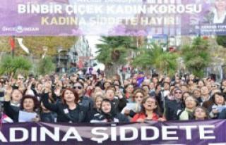 1001 Kadından Protesto