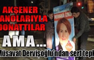 İzmir Mitingi Öncesi Pankart Krizi