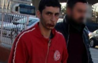 Eşini Boğarak Öldüren Suriyeli Tutuklandı