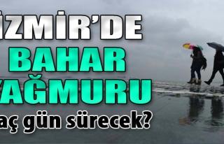 İzmir'de Bahar Yağmuru