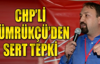 CHP'li Gümrükçü'den Sert Tepki