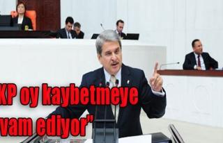 'AKP Oy Kaybetmeye Devam Ediyor'