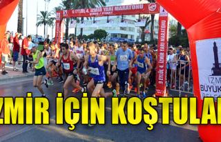 1500 Atlet İzmir İçin Koştu