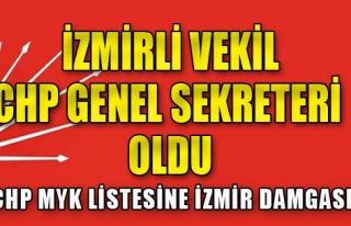 MYK Listesine İzmir Damgası