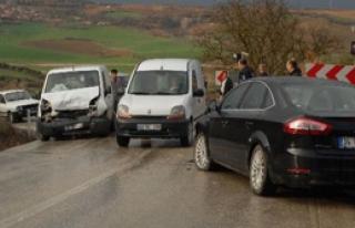 4 Ayrı Kazada 18 Kişi Yaralandı
