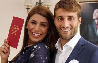 Ebru Şancı Evlendi