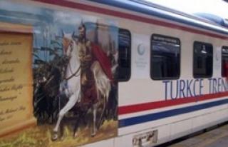 'Türkçe Treni' Kırıkkale'ye Geldi