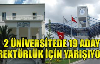 2 Dev Üniversitede Seçim Heyecanı