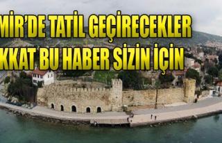 İzmir'de Tatil