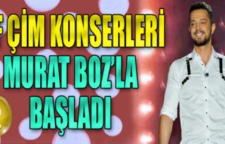 Murat Boz'dan Coşkulu Açılış Konseri