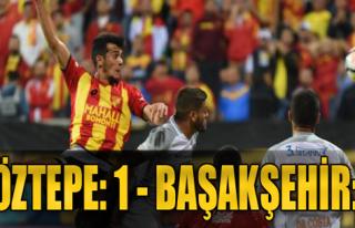 Göztepe - Medipol Başakşehir: 1-2