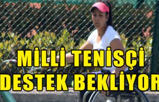 Milli Tenisçi Destek Bekliyor