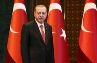 Erdoğan, Tebrikleri Kabul Etti