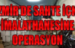 Sahte İçki İmalathanesine Operasyon