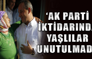 Şengül'den Yaşlılar Haftası mesajı