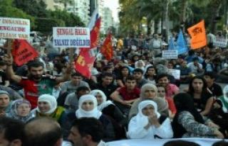 Adana'da Işid Protestosu